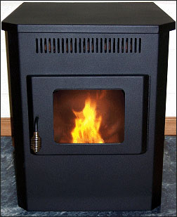 Emerald Model Corn Burning Stove
