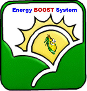corn buring enery boost system